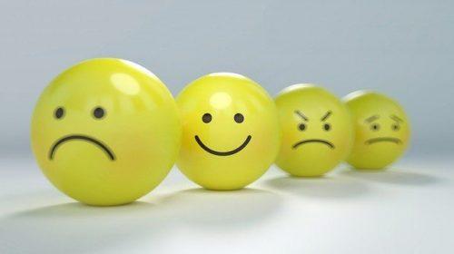 不安、喜び、怒り