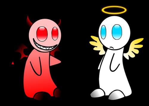天使と悪魔、違い